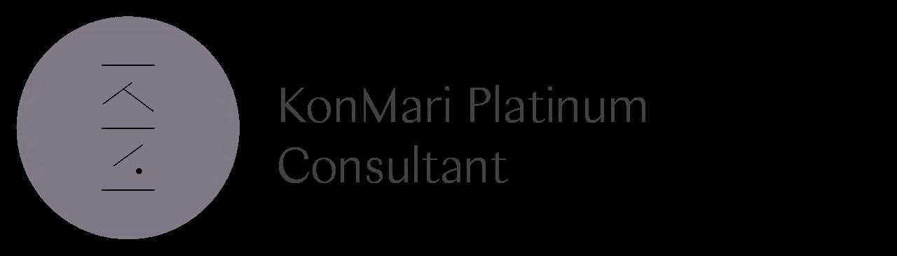 KonMari Platinum Consultant, offizieller Badge