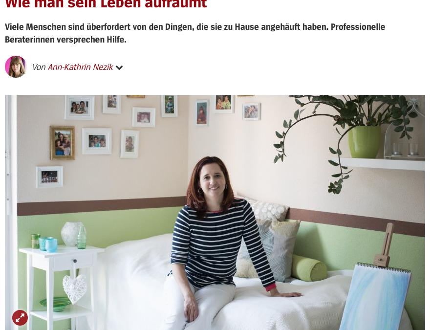 Karine Paulon im Beitrag des Spiegels.