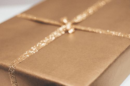 Nahaufnahme Geschenk